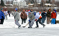 Great Lakes Classic Pond Hockey Tournament Wisconsin