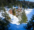 High Falls Tettegouche State Park Panorama 18-1-02570