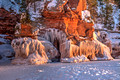 Apostle Islands Ice Caves 2014