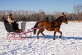 Northwoods Harness Club Sleigh and Cutter Rally Ashland  17-1-2321