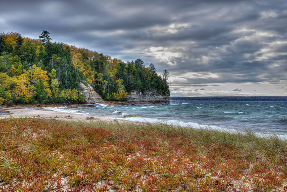 Miners Beach Pictured Rocks National Lakeshore 14-10-_1871