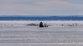 Ice Fisherman Chequamegon Bay Washburn Wisconsin 17-2-2559