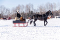Northwoods Harness Club Sleigh and Cutter Rally Ashland 17-1-2262